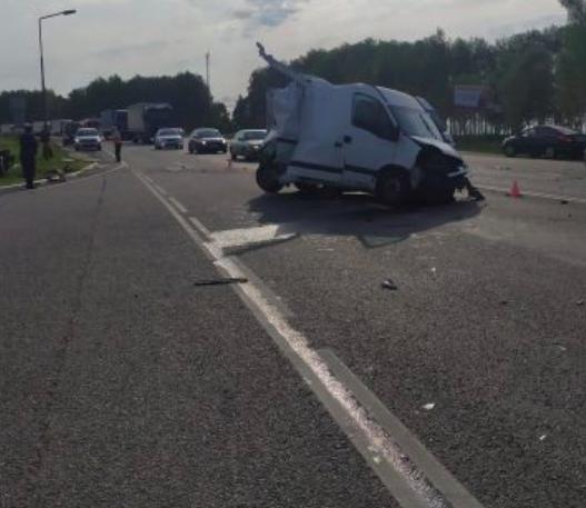 В сети появилось видео жуткого ДТП на брянской трассе