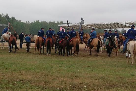 На Брянщине прошел праздник ковбоев «Русское родео»