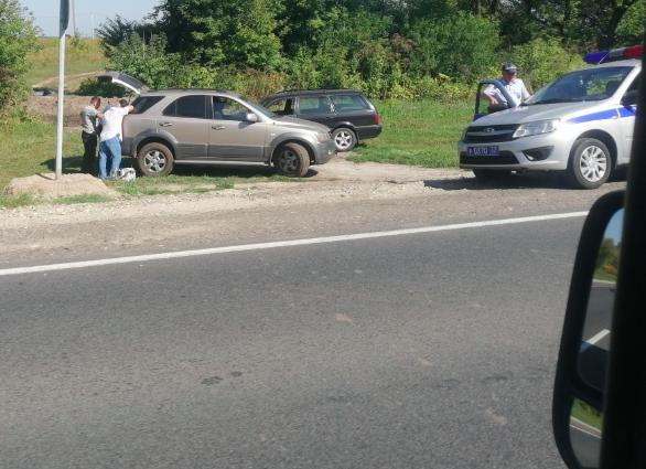 Под Брянском агрессивный водитель «вломил» охраннику фотоловушки