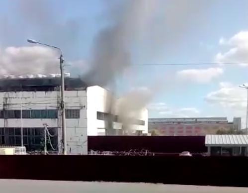 В Брянске никто не пострадал во время пожара возле БМЗ