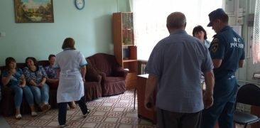 В Суражском доме-интернате эвакуировали всех проживающих