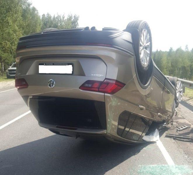 В ГИБДД рассказали подробности жуткого ДТП на брянской трассе