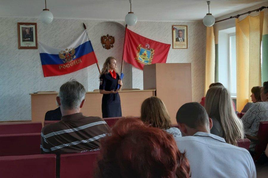 Брянская полиция провела обучение народных дружинников