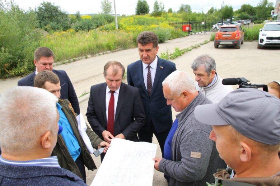 В Брянске приступили к прокладке ливневки по переулку Пилотов
