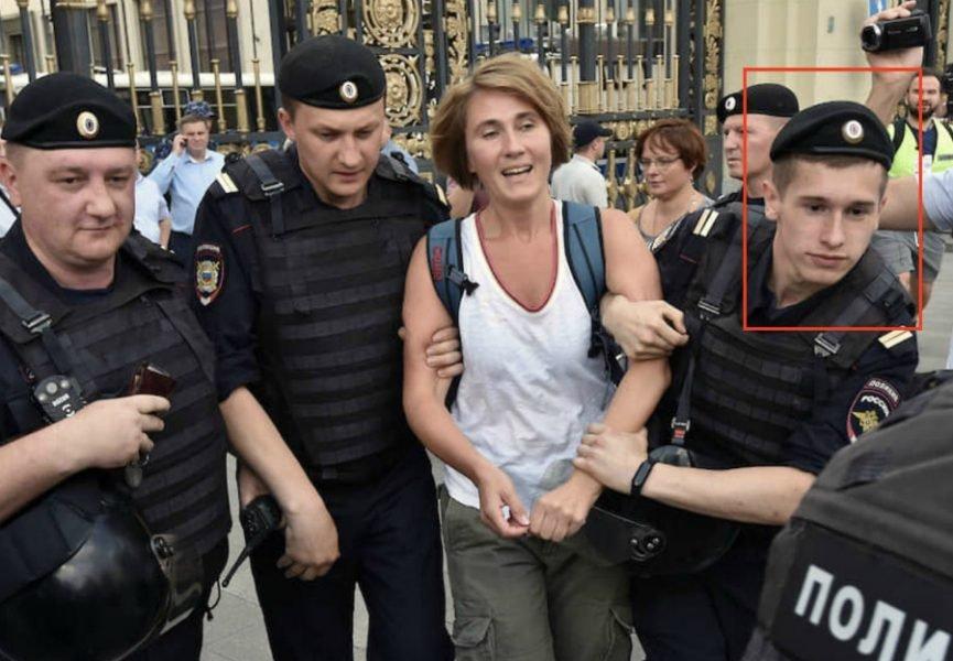 «Он разгонял протест»: проект «Сканер» раскрыл брянского ОМОНовца