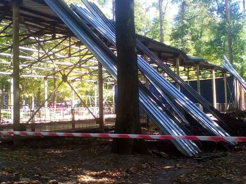 В брянском поселке Локоть стартовала реконструкция парка