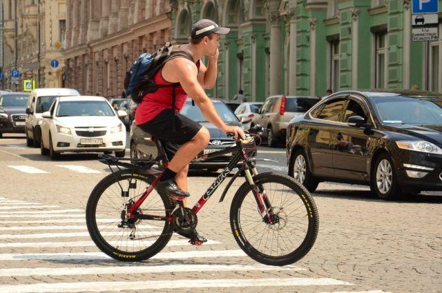 На брянских дорогах с начала года 12 велосипедистов попали в ДТП