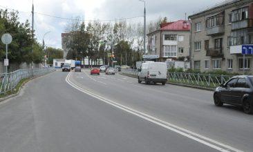 В Брянске на улице Спартаковской уложили новый асфальт
