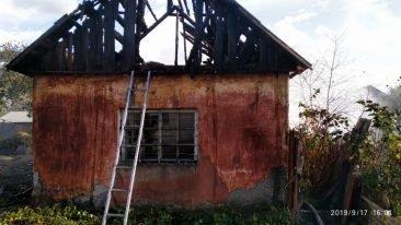 В Клинцах 17 сентября тушили пожар