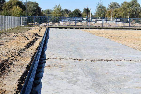 В Сураже появится новое футбольное поле с искусственным покрытием