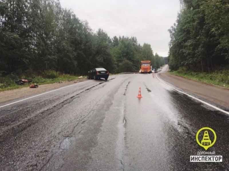 Брянский мотоциклист погиб на трассе под Санкт-Петербургом
