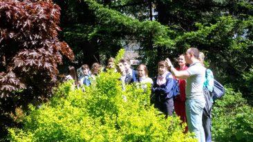 В Брянске ботанический сад БГИТУ отмечает 75-летие