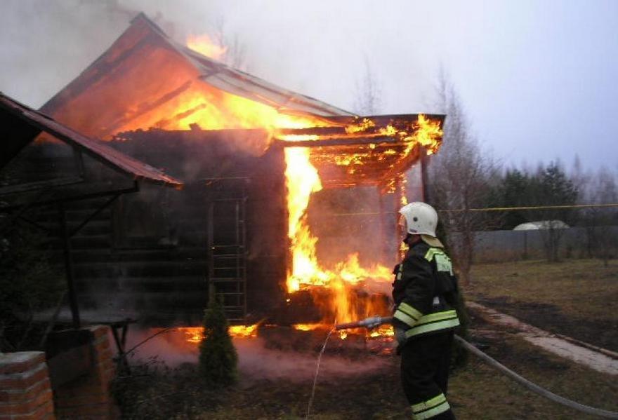 В Брянске банный день закончился пожаром
