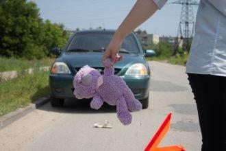 В брянском поселке пьяный водитель покалечил 2-летнюю девочку
