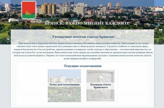 В Брянском горсовете объяснили смерть сайта