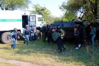 В Стародубском районе силовики обезвредили условных террористов