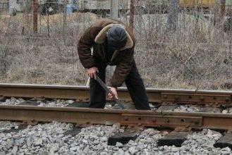 Брянец попался на краже детали железнодорожного пути