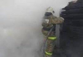 В Климовском районе 4 часа тушили крупный пожар