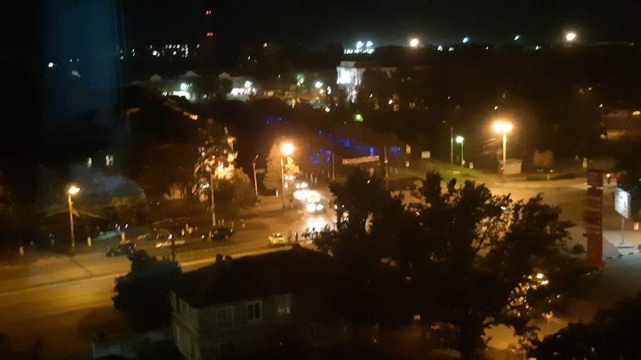 В Брянске произошла массовая авария с участием маршрутки