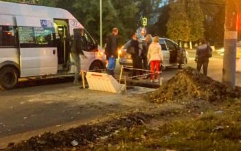 В Брянске на «Мечте» в ДТП с маршруткой №240 ранена пенсионерка