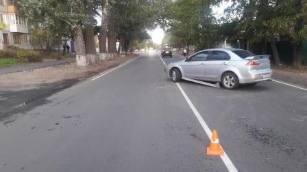 В Брянске водитель Mitsubishi сбил пенсионерку-нарушительницу