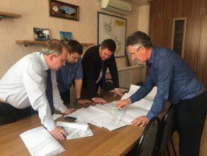 В Брянске приступили к строительству новой дороги на улице Советской