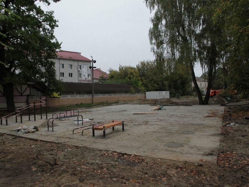 В Брянске ремонт Майского парка затягивается до середины октября