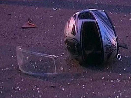 Под Дятьково мотоциклист врезался в маршрутку и сломал позвоночник