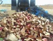 В Брянской области вывезли на мусорный полигон больше полутоны малины