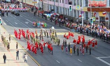 Первый канал поздравил брянцев с Днем города