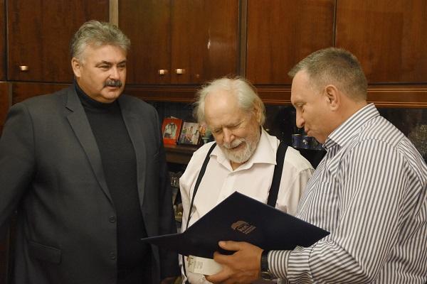 Старейшему брянскому единороссу исполнилось 88 лет
