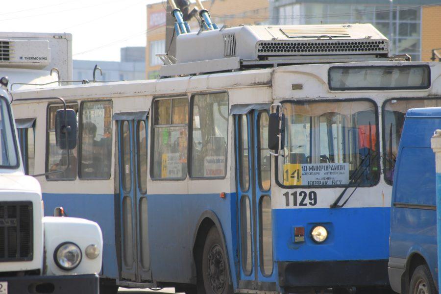 В Брянске на улице Авиационной перестанут ходить троллейбусы