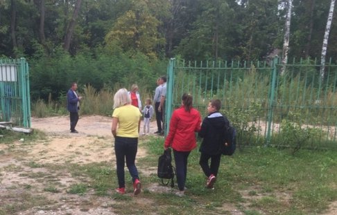 В Брянской области эвакуировали спортшколу имени Шкурного