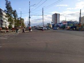 В Брянске улица Авиационная стала шестиполосной