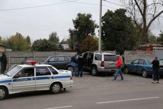 В Брянске в массовой аварии у БГТУ пострадали 4 автомобиля