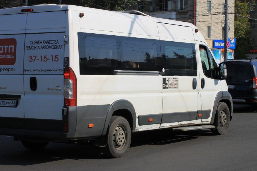 В Брянске маршрутчики мешают работе синих автобусов