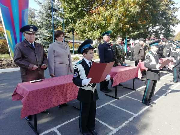 В Дятьково кадеты приняли присягу