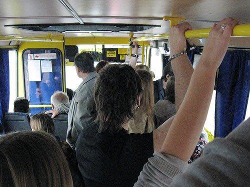 В Брянске на День города из-за давки в маршрутке пострадал ребенок