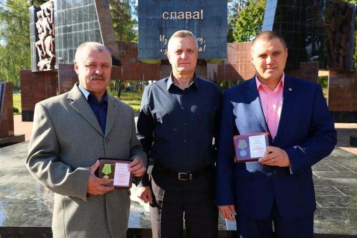В Клинцах ветеранам МВД вручили медали