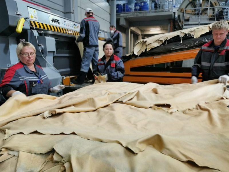 На Брянщине открыли крупный кожевенный завод за 2,8 млрд рублей