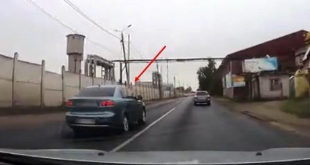 В Брянске наказали наглого водителя Mitsubishi