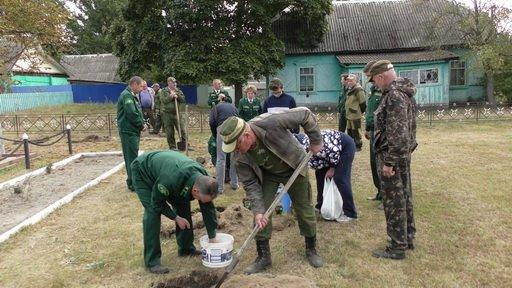В брянском селе Холмечи заложили каштановую аллею