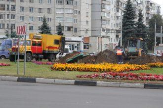 В Брянске на улице Авиационной уложили 1,5 км газовых сетей