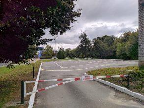 В Брянске возле Дворца Гагарина откроют дополнительную парковку