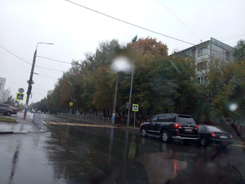 В Брянске на перекрестке столкнулись Toyota и Hyundai