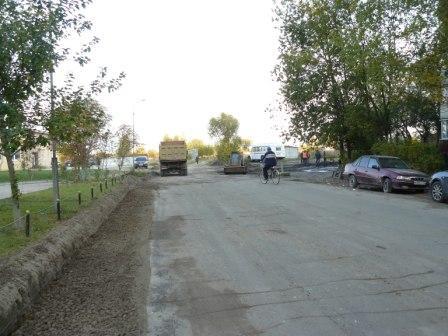 В Дятьково расширят дорогу в 13-м микрорайоне