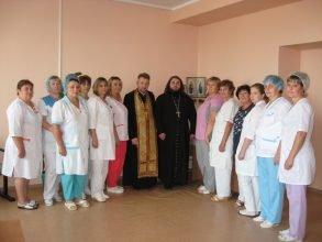 В Клинцовском роддоме открыли молитвенную комнату