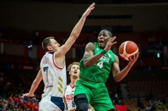 Брянский баскетболист Фридзон испугал соперника из Нигерии