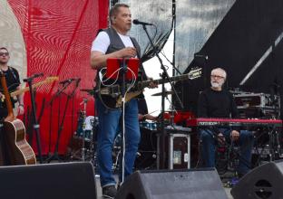 Под Брянском на празднике «Русское родео» выступила группа «Любэ»