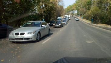В Брянске возле ТРЦ «Аэропарк» образовалась огромная пробка